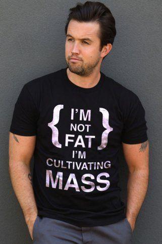 Sub_Urban Riot I'm Not Fat T-Shirt Black | Always Sunny