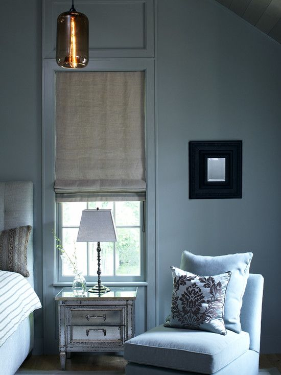 Wall trim modern victorian and roman shades on pinterest for Cost of blinds for 3 bedroom house