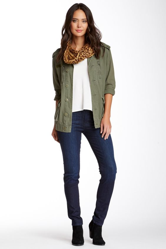The Slim Cigarette Jean by 7 For All Mankind on @HauteLook