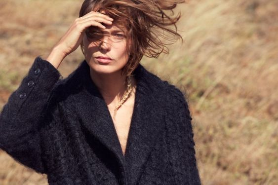 Daria Werbowy is All Natural in Maiyets Fall 2012 Campaign by Cass Bird