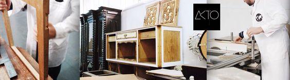 A #AKTO – Arts & Krafts Technologies, é uma empresa de artes e ofícios, instalada bem no centro de #Lisboa, que nasceu da vontade de restaurar o que é velho e sem uso, em magníficas peças de mobiliário de decoração contemporânea.