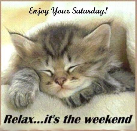 Enjoy Your Saturday!!