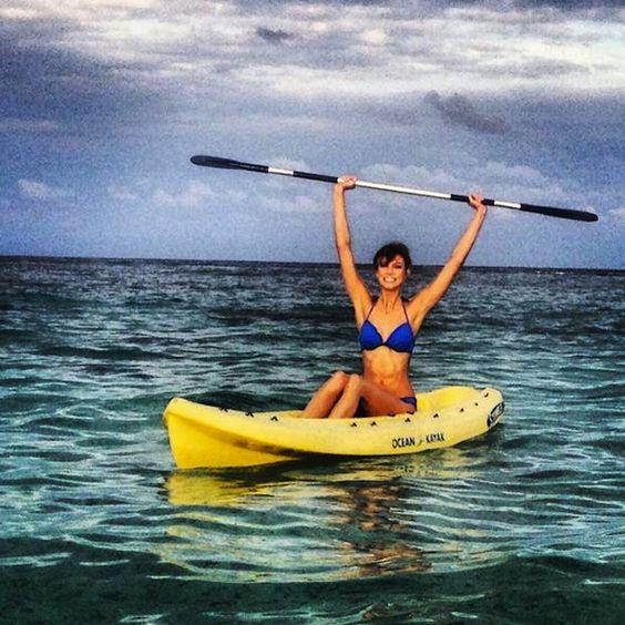 water sports, iphone photography, instagram, karlie kloss, water sports, kayak