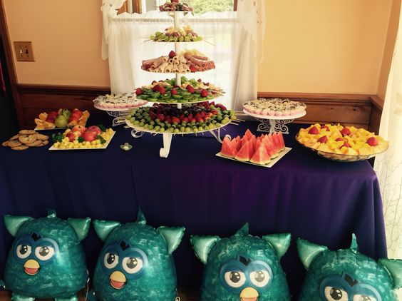 fruit table set