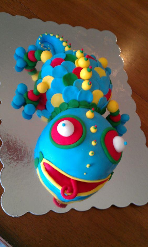 Lizard cake cakes pinterest lizard cake cake and recipes pronofoot35fo Choice Image