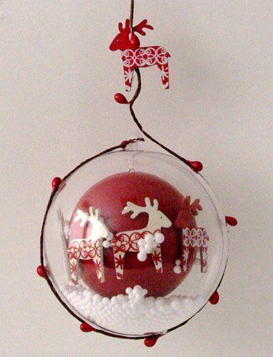 une idée originale pour marier boule plexi et boule polystyrène. => faite! le rendu est super beau!