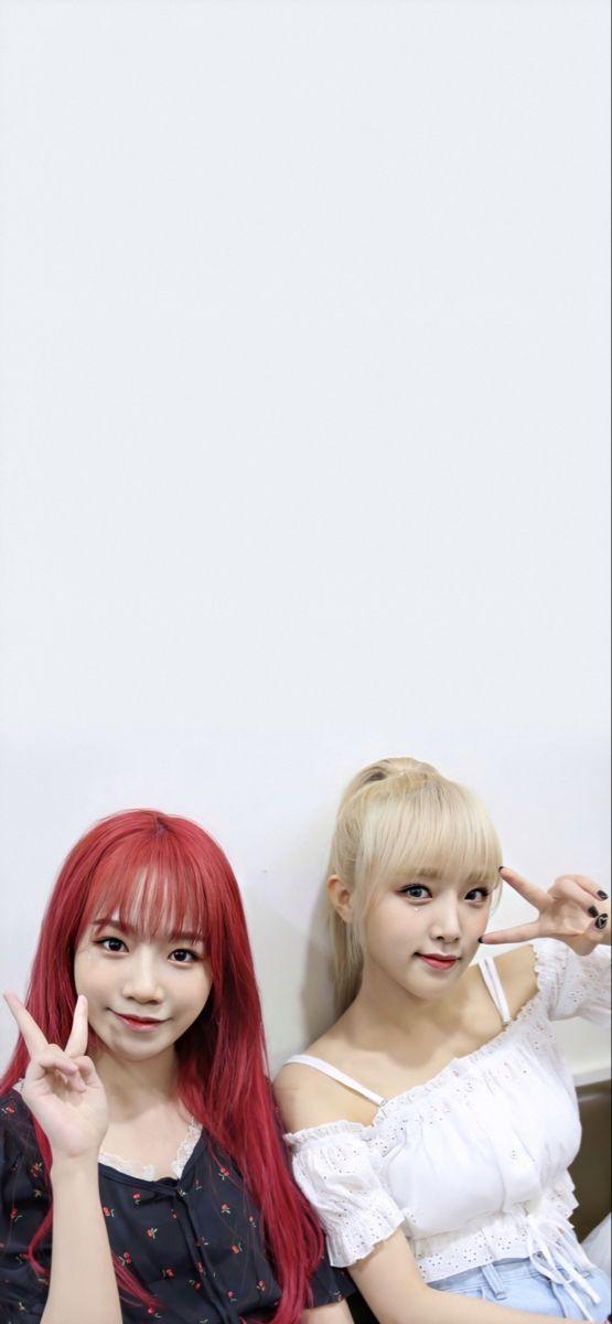 Jo Yuri Choi Yena Wallpaper Yulyen Wallpaper Please Poses Wallpaper