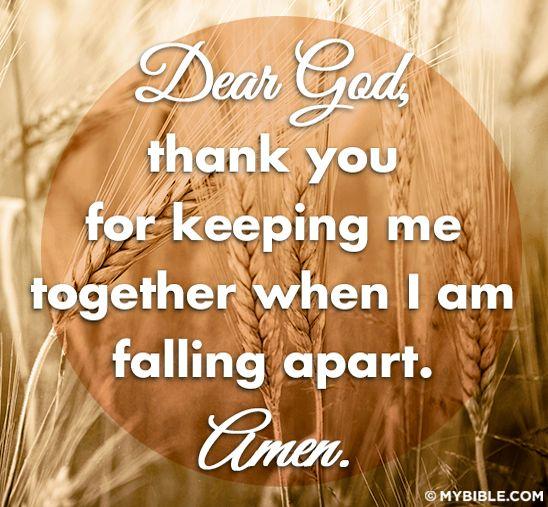 Dear God....