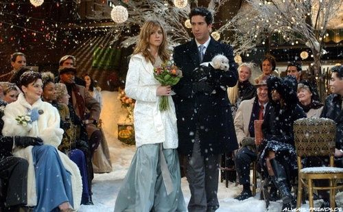 Pheobes wedding in friends! THIS IS IT!
