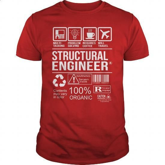 Awesome Tee Shirt Structural Engineer - #t shirt #yellow hoodie. CHECK PRICE => https://www.sunfrog.com/LifeStyle/Awesome-Tee-Shirt-Structural-Engineer-Red-Guys.html?id=60505