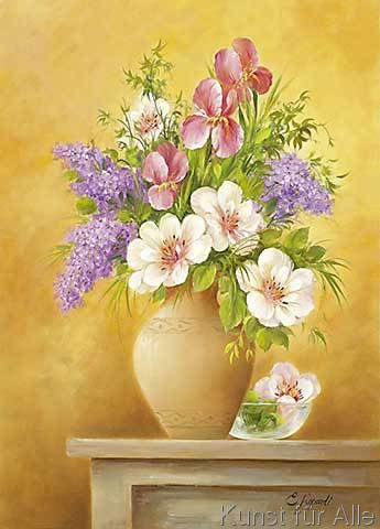 E. Lopardi - BOUQUET OF FLOWERS I