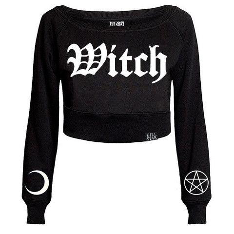Witch Crop Sweater [B]   KILLSTAR