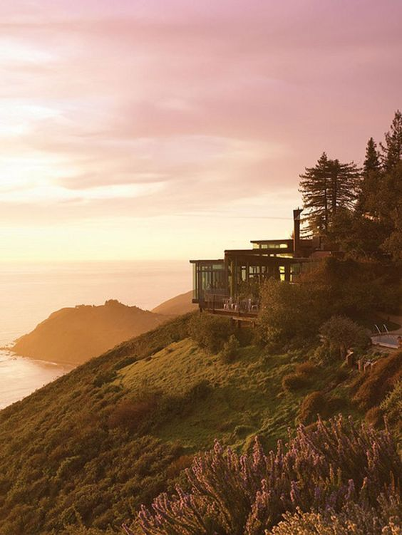 Post Ranch Inn in Big Sur, California