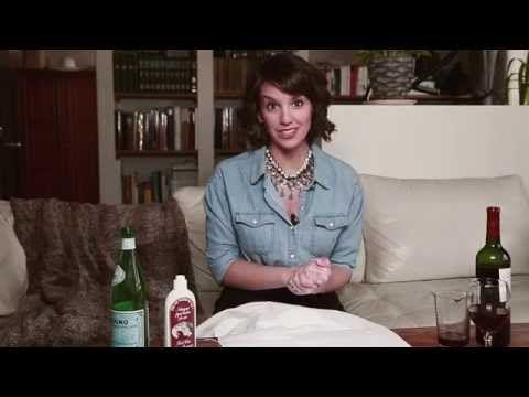Faire disparaitre une tache de vin rouge - La Reine du Shopping