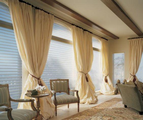 gardinen dekorationsvorschläge wohnzimmer wohnzimmer Pinterest - gardinen dekorationsvorschläge wohnzimmer
