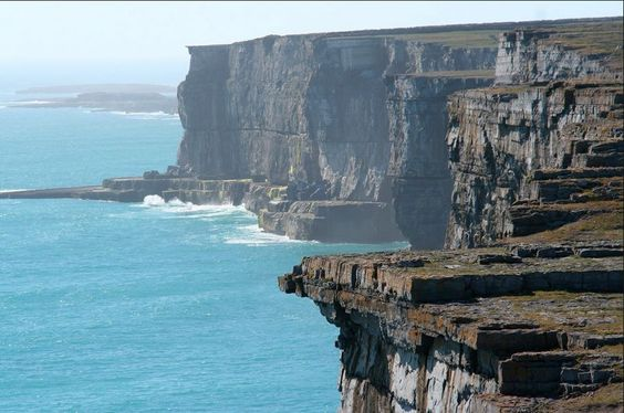 Gorgeous weather in the #AranIslands this week!  Come join us from #DoolinPier.