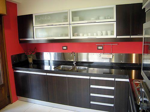 Amoblamiento de cocina a medida casa home pinterest for Amoblamientos cocina