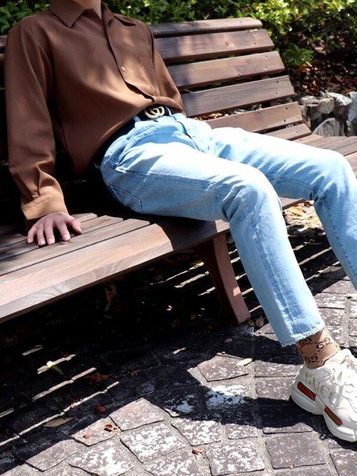 on sale d32a7 b7e0e qsssy|Gucciのソックス/靴下を使ったコーディネート | My WEAR ...