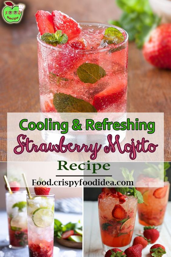 Strawberry Mojito Pitcher Recipe