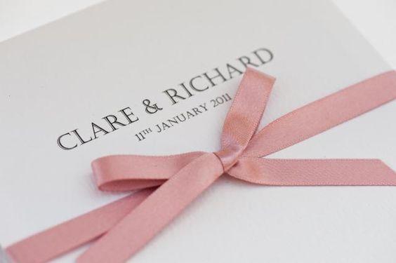 Pocket Wedding Invitation-Theresa | Handmade By me Limited