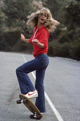 Farrah Fawcett (go big hair or go home)  Charlie's Angels 1976