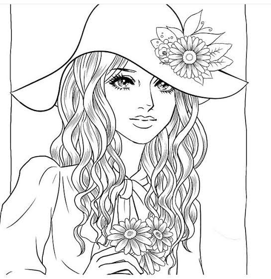 Coloring Sheets Of People