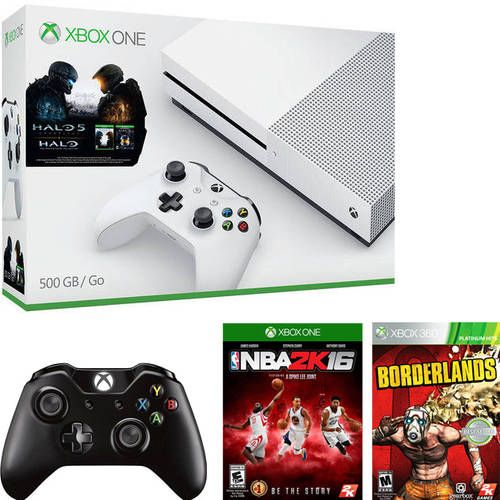 Xbox One S Halo Collection Bundle (500GB) with 4k UltraHD Movie Xbox One Game and Wireless Controller from $299 #LavaHot http://www.lavahotdeals.com/us/cheap/xbox-halo-collection-bundle-500gb-4k-ultrahd-movie/115589