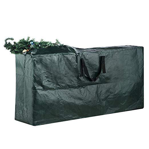 Elf Stor Premium Green Christmas Tree Bag Holiday Extra Large For Up To 9 Tree Storage Christmas Tree Bag Christmas Tree Storage Christmas Tree Storage Bag