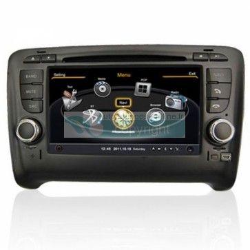 Autoradio Audi TT - Double Din Autoradio GPS Bluetooth DIVX DVD CD USB SD RDS IPOD 3G Radio TV Pour Audi TT (2006-2012) Prix spécial : 364,00 €