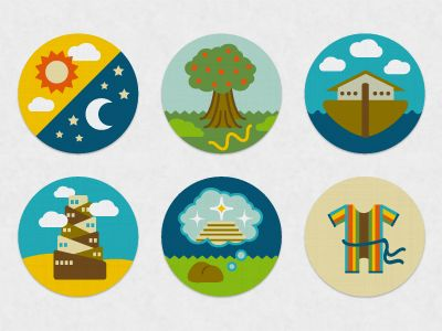 Bible Icons: Genesis Series by http://www.lizaunson.com/
