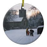 St Mary's Church Great Canfield Ornament  St Mary's Church Great Canfield Ornament  $14.50  by Knelstrom  . More Designs http://bit.ly/2fwNuVk #zazzle