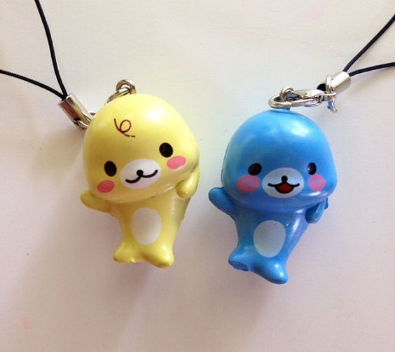Hey, I found this really awesome Etsy listing at https://www.etsy.com/listing/191707836/mamegoma-seal-charm