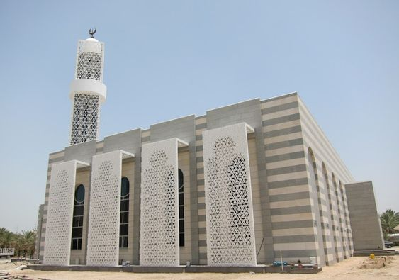 Confashions from kuwait modern mosque in kuwait islamic for Mosque exterior design