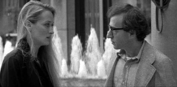 Manhattan. Woody Allen and Meryl Streep.