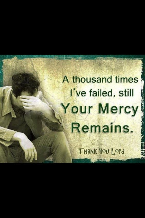 His grace gives us what we don't deserve and His mercy withholds the punishment we deserve! Thank you God, I just don't know how you can love me so much.: