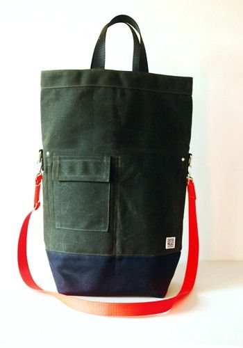 Chester Wallace Evergreen Canvas with Zipper, $160.00 from Art in the Age