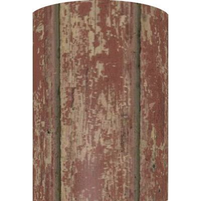 Illumalite Designs Weathered Wood Drum Lamp Shade Color: