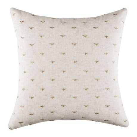 Queen Bee Cushion 50x50cm  Natural