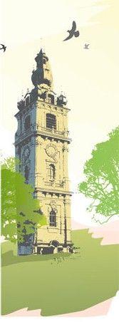 Elément de l'affiche de l'exposition 'La Bible, patrimoine de l'humanité', UCL Mons