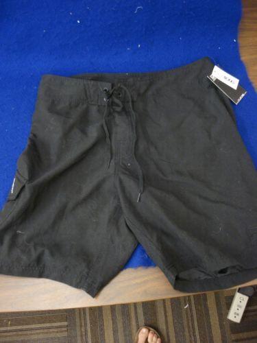 J New with Tags Billabong Black Boardshorts Size 34 RN 99064 | eBay