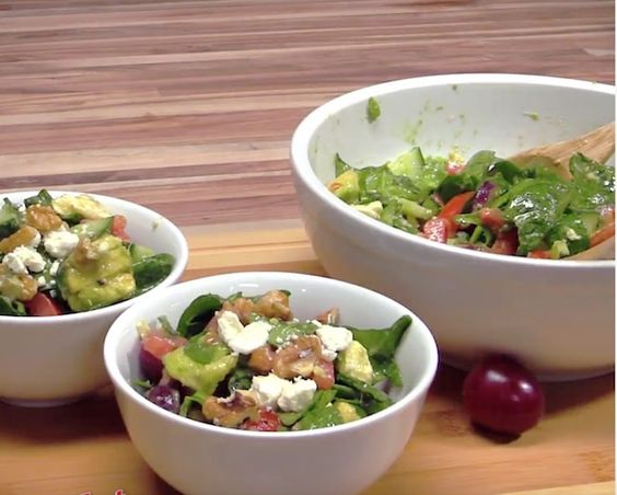 I don't know about you, but I am always loing for a new icious salad recipe! I especially  incorporating fruits, nuts and cheeses ...