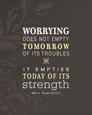 Be worry-free :)