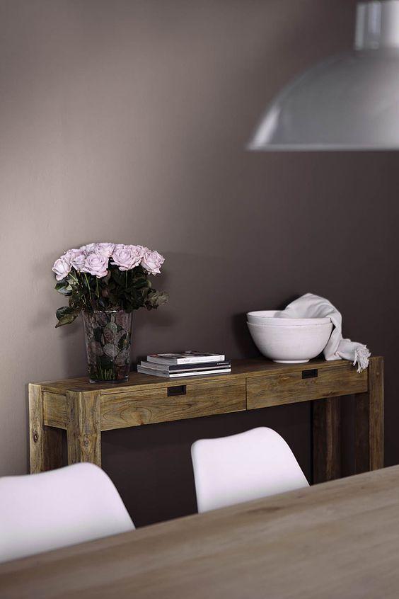 New traditionals krijtverf kleur silt op de wand in woonkamer verkrijgbaar bij deco home bos in - Deco woonkamer ...