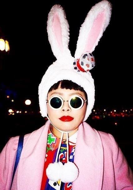渡辺直美ウサギ帽子