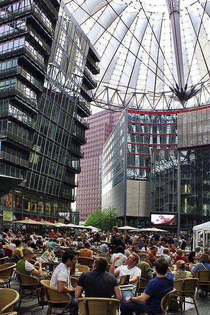 Potsdamer Platz, Berlin_ Germany