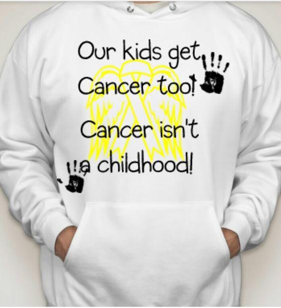 Cute idea for awareness #childhoodcancerawareness