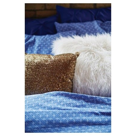 Mongolian Fur Decorative Pillow - Cream (Square) - Xhilaration™ : Target