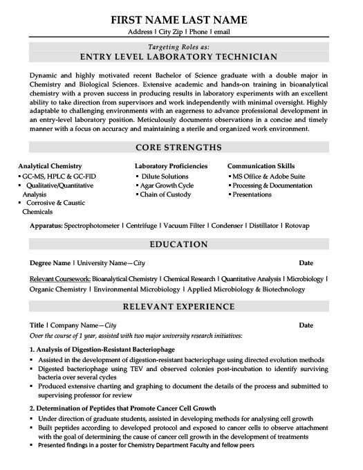 Biotechnologist Resume Template Premium Resume Samples Example Resume Resume Template Resume Template Examples