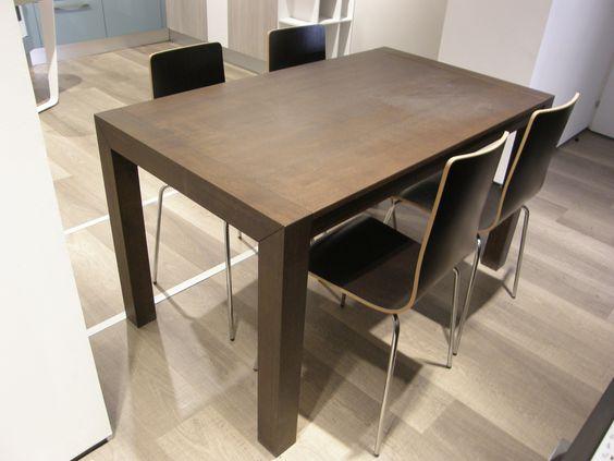 Tavolo per Cucina Lube Moderno Modello Orione Scontato del 50 ...