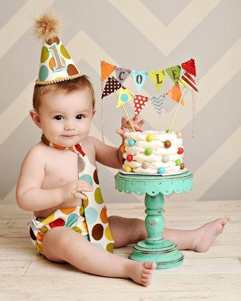 Cómo celebrar el primer cumpleaños de tu bebé